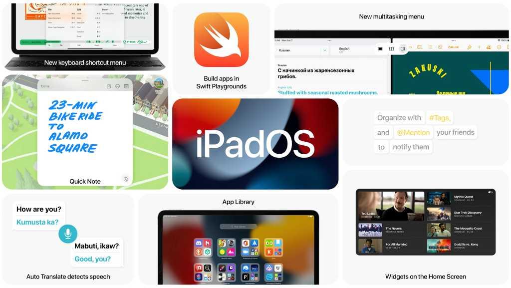 iPad OS 15 features