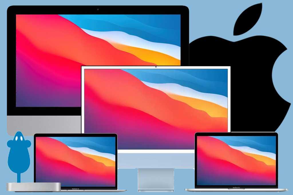 Mac family graphic