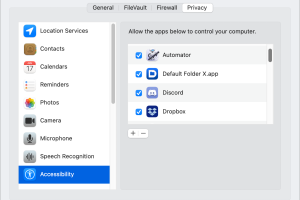 How to fix macOS Accessibility permission when an app can't be enabled