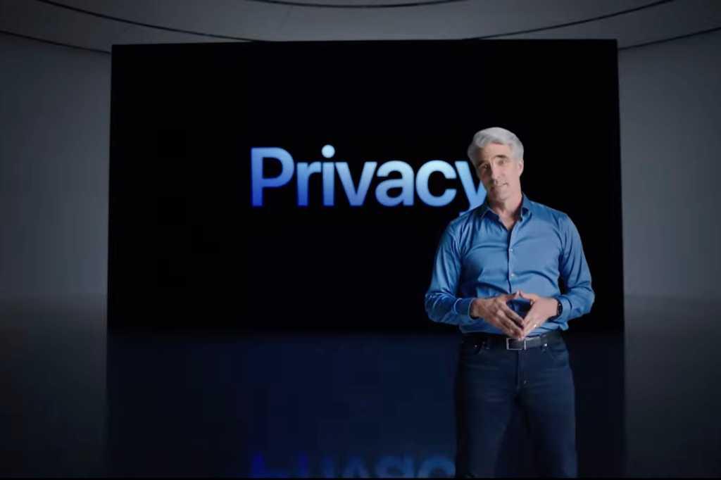 WWDC21 keynote privacy