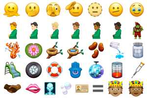 Melting and trolling: These new emoji could land on your iPhone this year