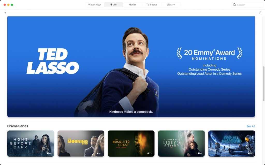 Apple TV+ app Ted Lasso