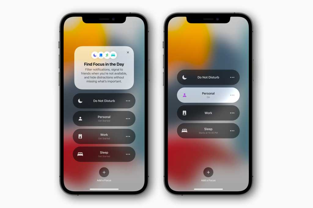 iOS 15 Focus Mode