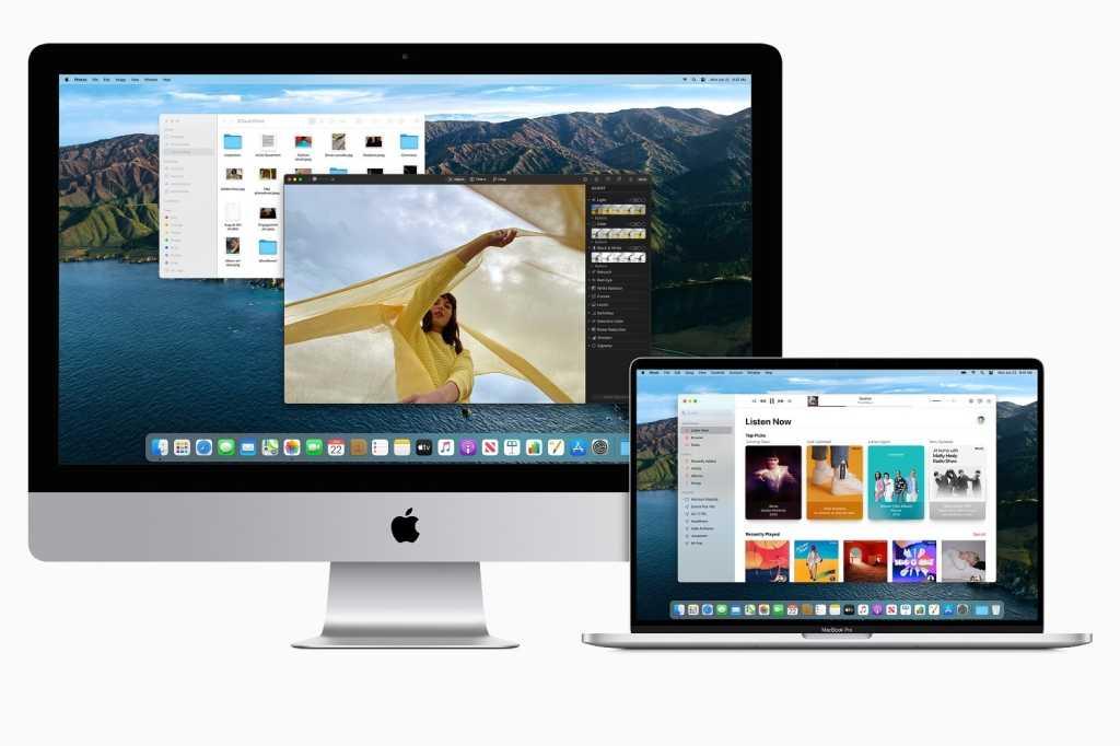 iMac MacBook Air macOS Big Sur 2020