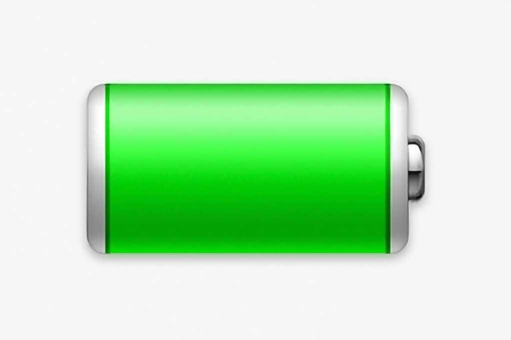 macOS Monterey battery icon