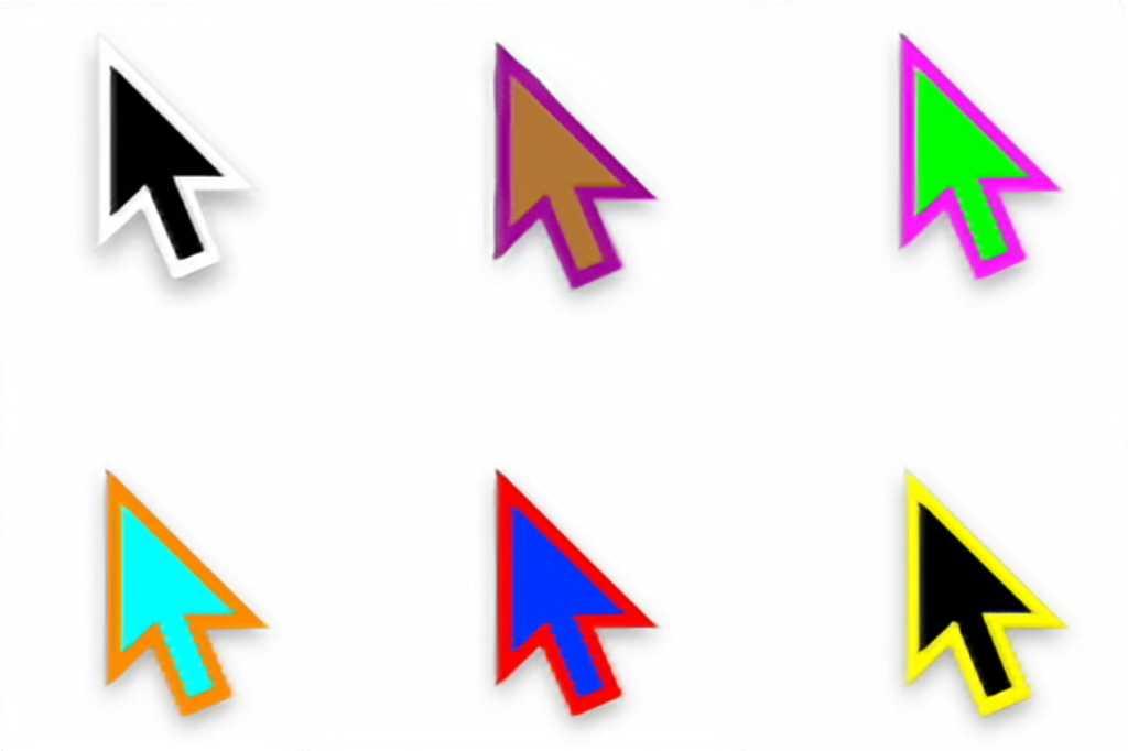 mac color cursors