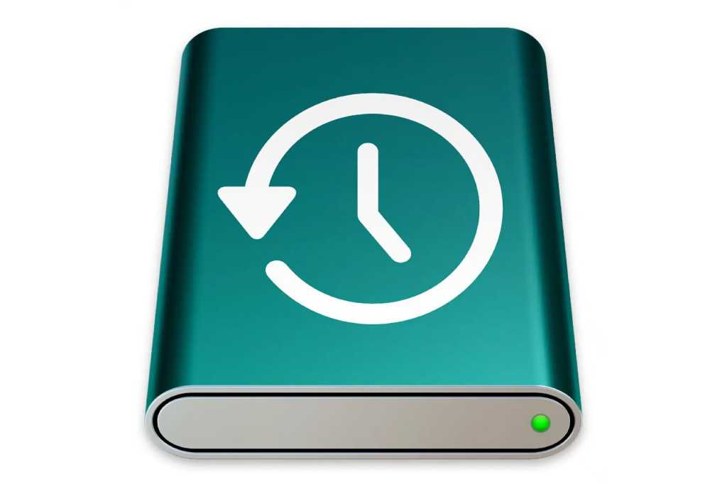 Time Machine macOS Big Sur drive icon