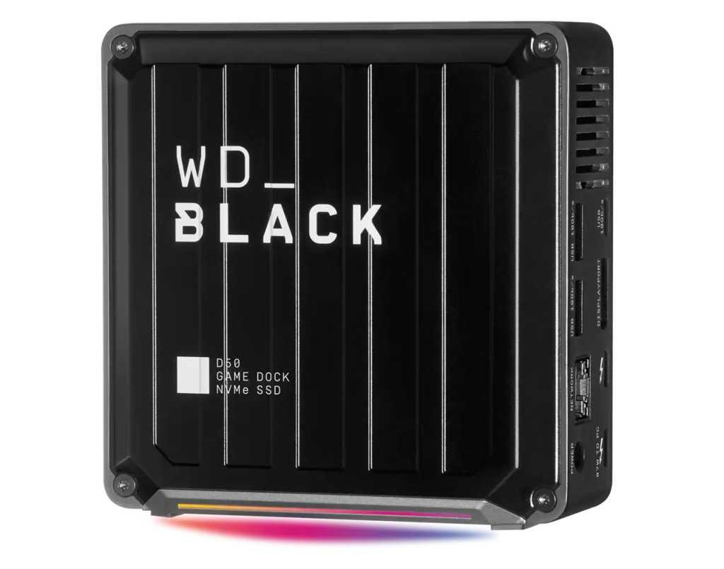 WD Black D50 Gaming Dock