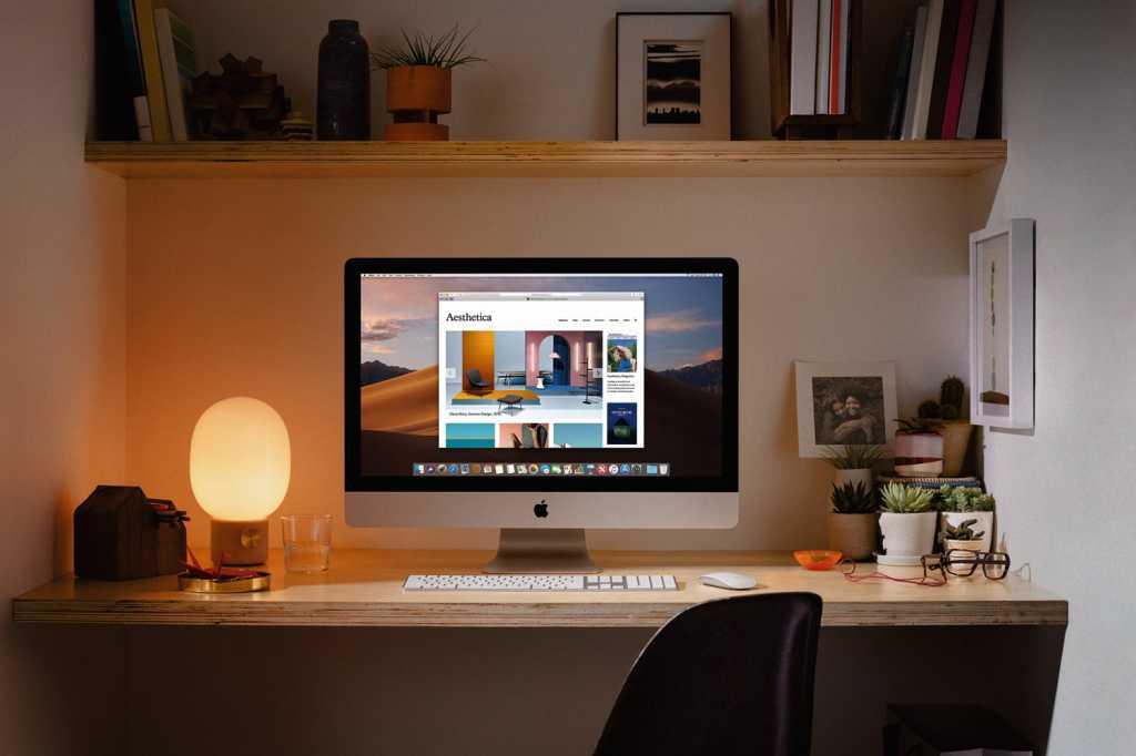 2019 imac home office