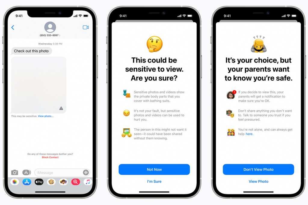 Apple messages scam