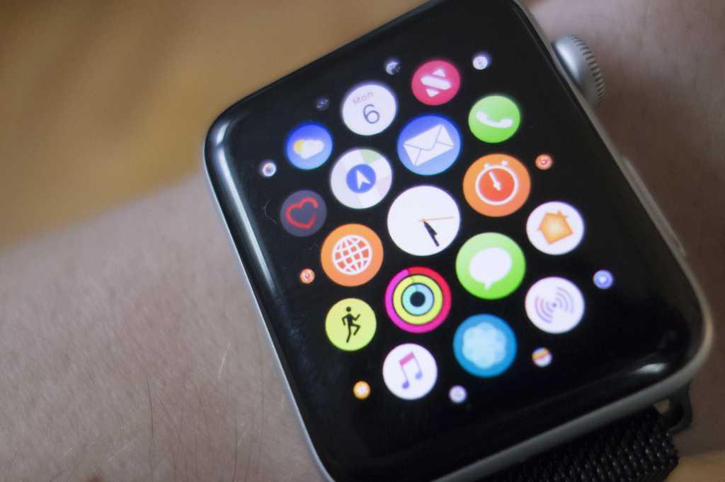 apple watch app grid