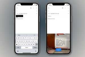 iOS 15: How to scan text almost anywhere