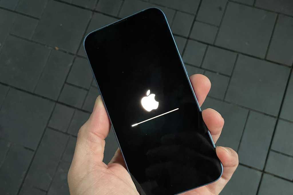 iPhone updating