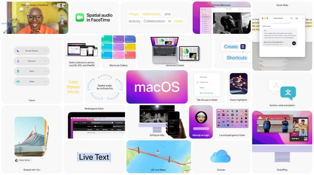 macOS Monterey WWDC21