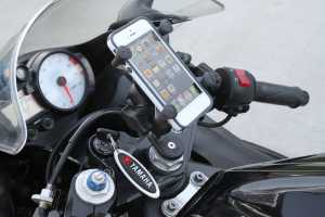 Apple warns: Don't mount your iPhone on a motorcycle