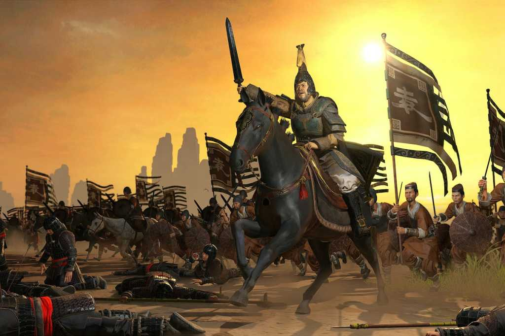 total war three kingdoms hero
