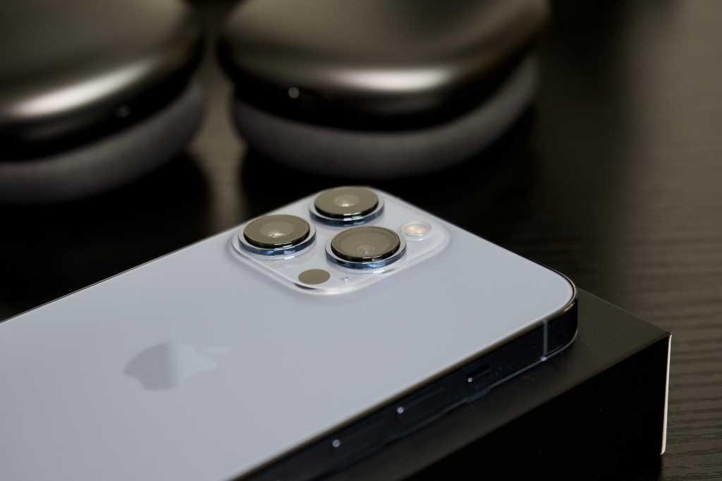 iPhone 13 Pro camera array