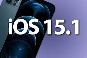 iOS 15.1 will arrive on October 25, release candidate is out now
