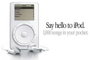 Twenty years ago, the iPod paved the way for Apple's success