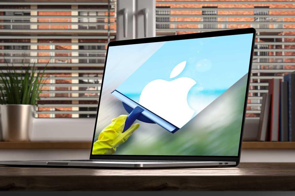 Mac cleaner apps screen cleaner shutterstock